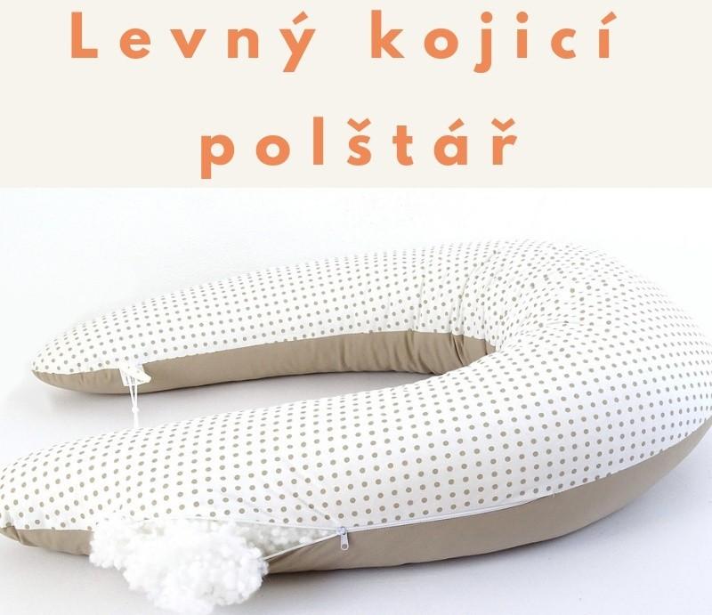 Levný kojicí polštář Matýsek