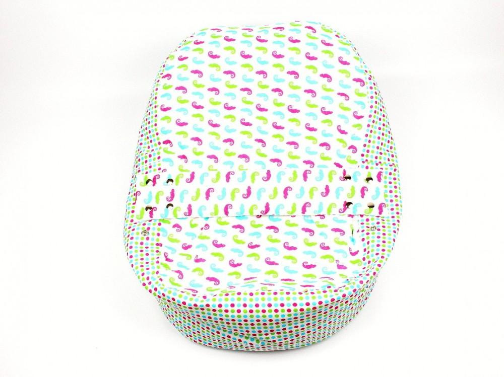 Pelíšek pro miminko, 100% bavlna, CHAMELEON BÍLÝ č.2