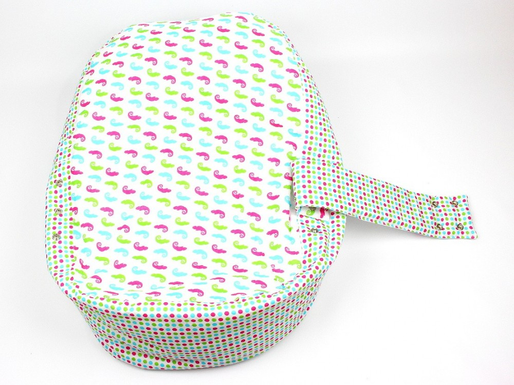 Pelíšek pro miminko, 100% bavlna, CHAMELEON BÍLÝ č.3