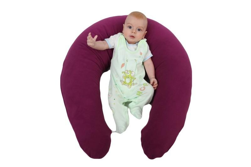 Kojící polštář Matýsek fleece fialový